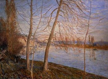 Winter Morning, Veneux