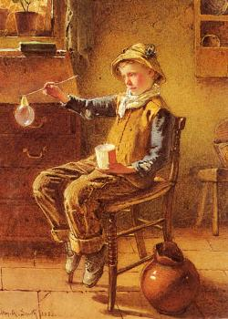 Carlton Alfred Smith : Blowing Bubbles