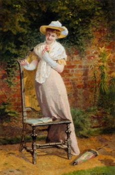 Carlton Alfred Smith : In The Garden