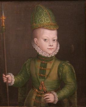Sofonisba Anguissola : Portrait of a boy at the spanish court