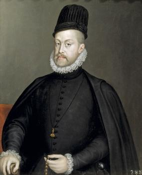 Sofonisba Anguissola : Portrait of Philipp II of Spain