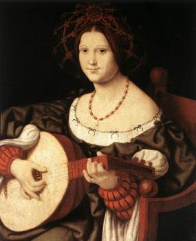 Andrea Solari : The Lute Player