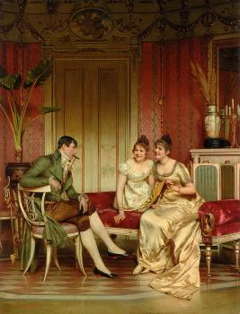 Frederic Soulacroix : The Afternoon Visitor
