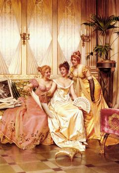 Frederic Soulacroix : The Three Connoisseurs