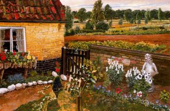 Stanley Spencer : Cottage at Wangford