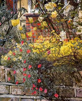 Stanley Spencer : Rock Roses, Old Lodge, Taplow