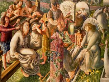 Stanley Spencer : The Resurrection, Tidying