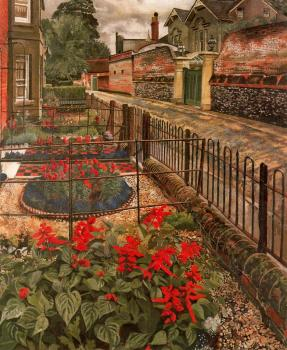 Stanley Spencer : Gardens in the Pound, Cookham
