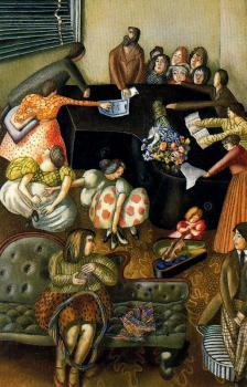 Stanley Spencer : At the Piano