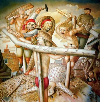Stanley Spencer : The Crucifixion