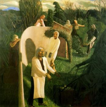 Stanley Spencer : Zacharias and Elizabeth