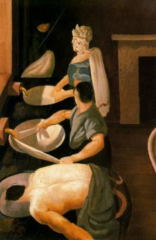 Stanley Spencer : Soldiers Washing