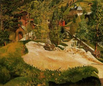 Stanley Spencer : Zermatt