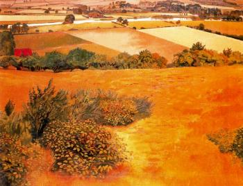 Stanley Spencer : Cockmarsh Hill, Cookham