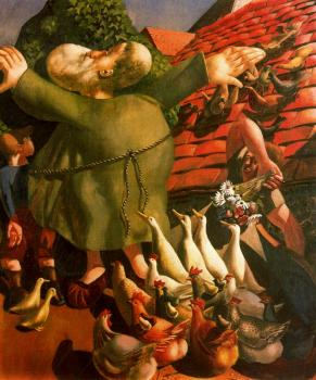 Stanley Spencer : Saint Francis and the Birds