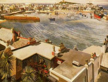 Stanley Spencer : The Harbour, St Ives