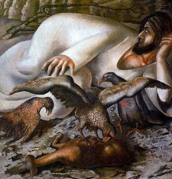 Stanley Spencer : Christ in the Wilderness, The Eagles