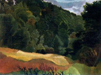 Stanley Spencer : The Quarry Woods, Cookham