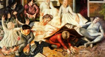 Stanley Spencer : Villagers and Saints