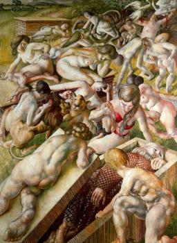 Stanley Spencer : Canvas painting