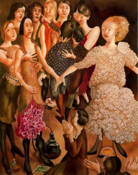 Stanley Spencer : Canvas painting II