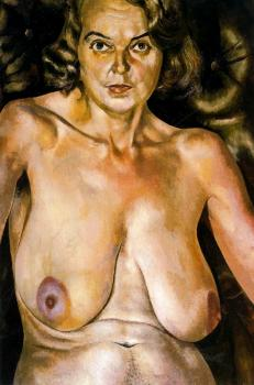 Stanley Spencer : Nude. Portrait Of Patricia Preede