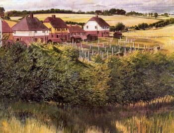 Stanley Spencer : Cookham Rise
