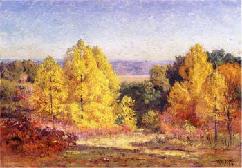 Theodore Clement Steele : The Poplars