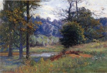 Theodore Clement Steele : Along the Creek