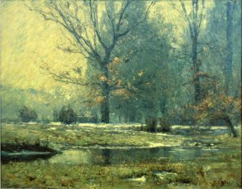 Theodore Clement Steele : Creek in Winter