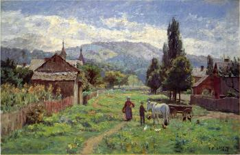 Theodore Clement Steele : Cumberland Mountains