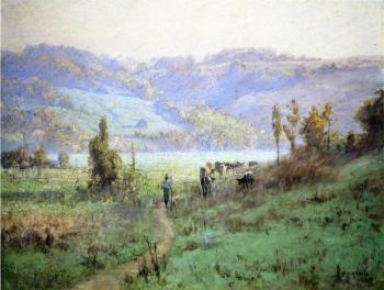 Theodore Clement Steele : In the Whitewater Valley near Metamora