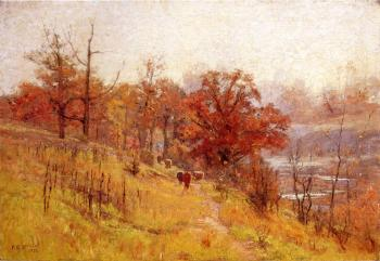 Theodore Clement Steele : November's Harmony