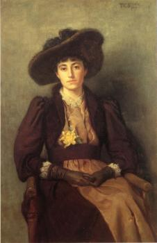 Theodore Clement Steele : Portrait of Daisy