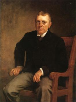 Theodore Clement Steele : Portrait of James Whitcomb Riley
