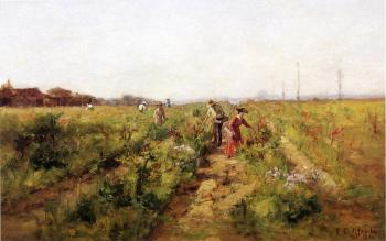 Theodore Clement Steele : In the Berry Field II