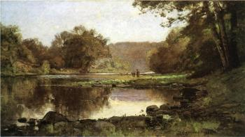 Theodore Clement Steele : The Creek