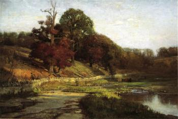 Theodore Clement Steele : The Oaks of Vernon