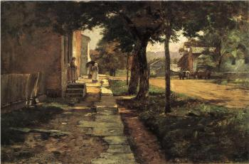 Theodore Clement Steele : Street in Vernon