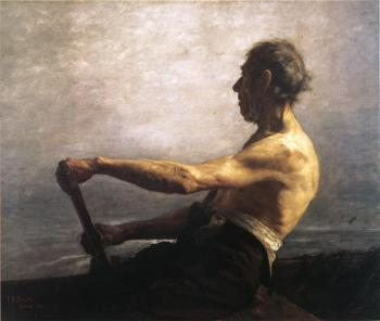 Theodore Clement Steele : The Boatman