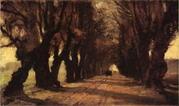 Theodore Clement Steele : Road to Schleissheim