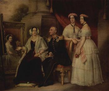 Family Portrait of the Herzogs, Joseph von Sachsen-Altenburg
