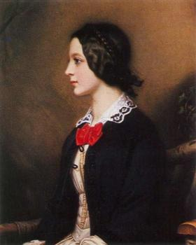 Portrait of Marie Dietsch