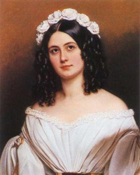 Portrait of Rosalie Julie Freifrau