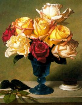 Stone Roberts : Scissors, Frog and Ganden Roses