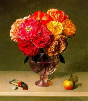 Stone Roberts : Roses apple and paint tube