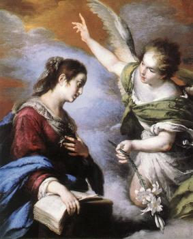 Bernardo Strozzi : The Annunciation