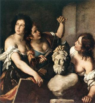 Bernardo Strozzi : Allegory of Arts
