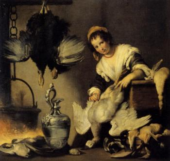 Bernardo Strozzi : The Cook