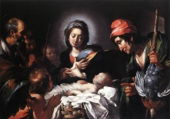 Bernardo Strozzi : Adoration of the Shepherds